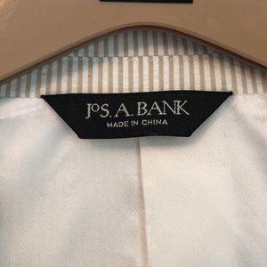 Jos. A. Bank Suits & Blazers - Jos A Bank tan seersucker suit